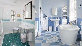 Blue And White Vinyl Flooring - Foter