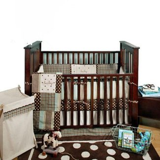 Camo crib bedding sets