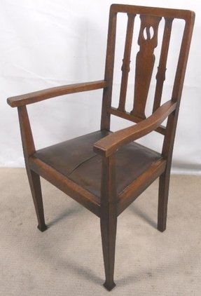 Carver arm chairs 6