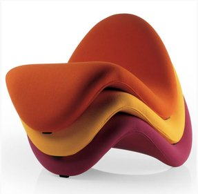 Contemporary chaise lounge chair 1