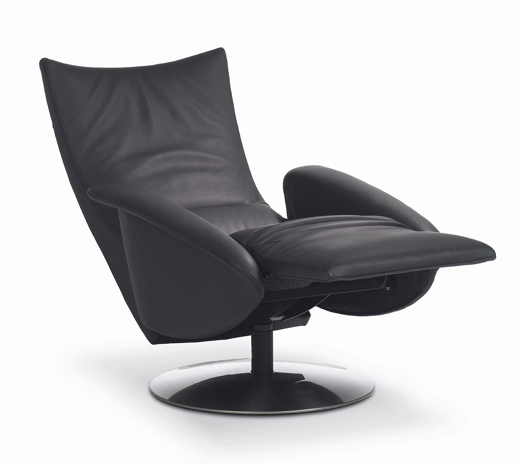 Contemporary Leather Recliner Chairs A Dark Colors With Modern And