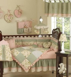 Country baby bedding