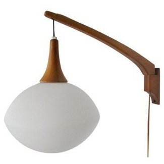 Danish modern pendant wall sconce