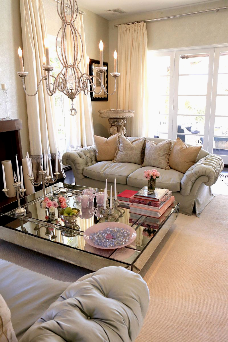 Diy Mirrored Coffee Table 1