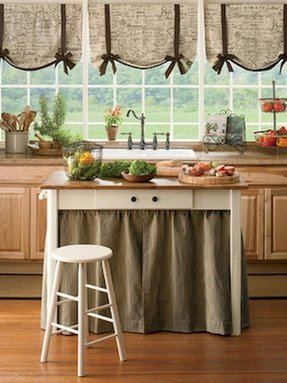 Shabby Chic Curtains Diy French Country