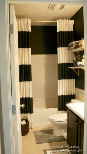 Extra Long Shower Curtain - Foter