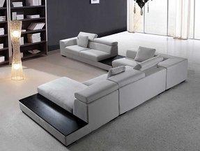 Modern Microfiber Sectional Sofa - Ideas on Foter