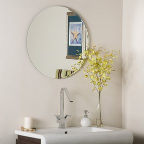 Frameless Decorative Wall Mirrors Foter