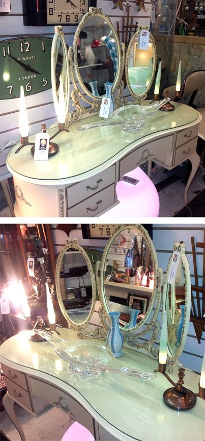 French Makeup Vanity