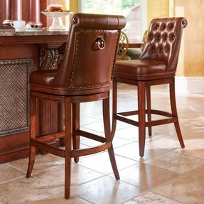 Frontgate swivel bar stools 2