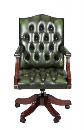 Green Leather Desk Chair Ideas On Foter
