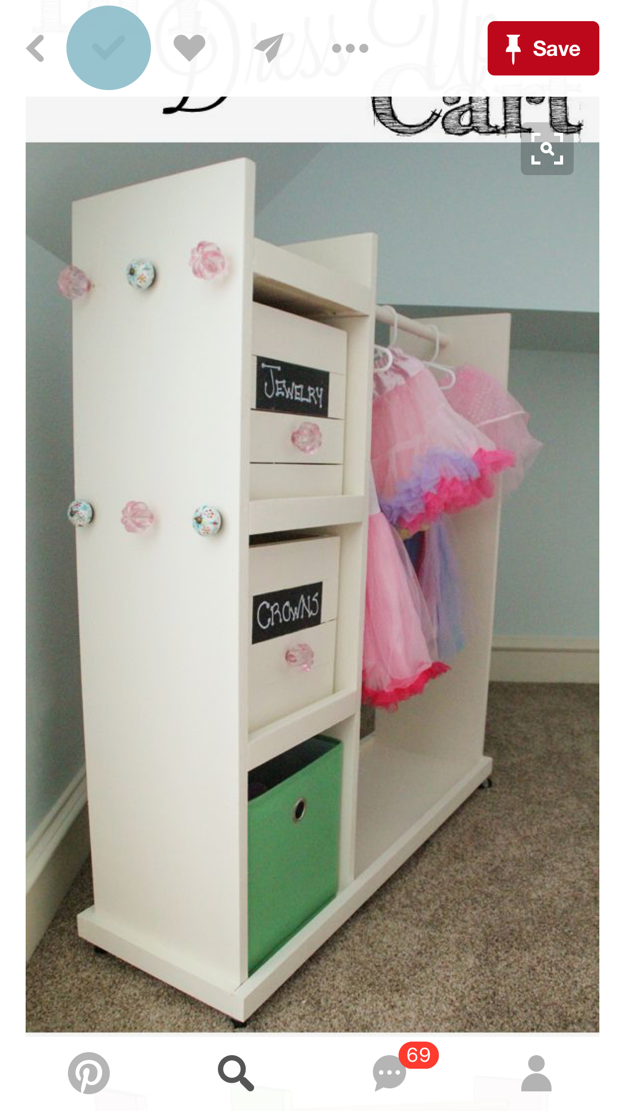 Superieur Girls Dress Up Closet