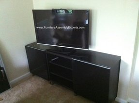 tv stand assembly foter