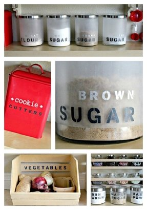 Kitchen jars and canisters 3