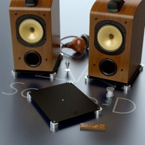 Bookshelf Speaker Stands