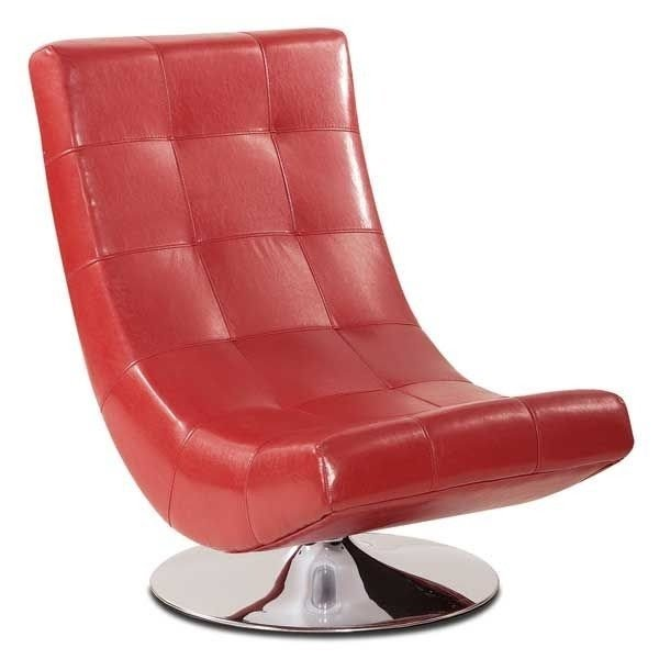 Delicieux Lani Red Swivel Chair