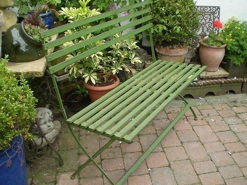 Metal Garden Benches For Sale 1