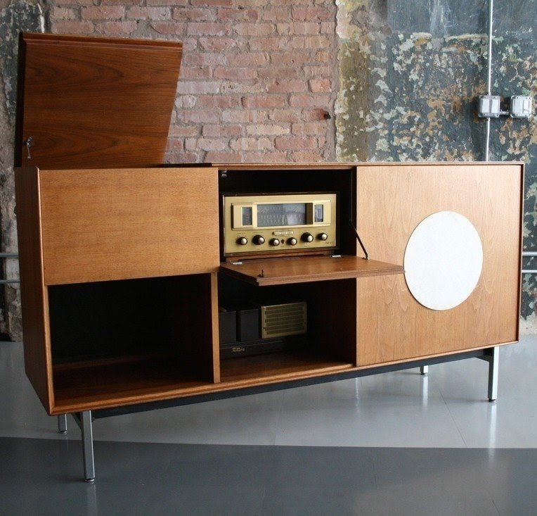 Modern Audio Cabinet 2