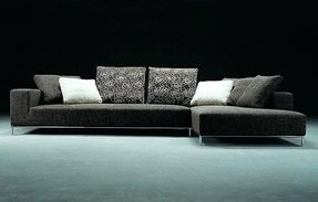 Modern Microfiber Sectional Sofa 10