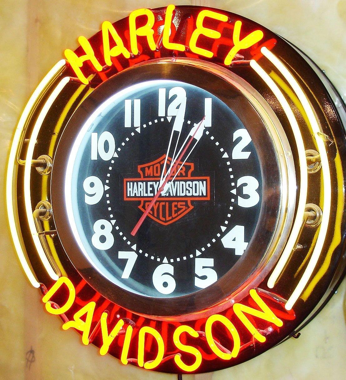 Harley Davidson Vintage Shabby Chic Wooden Sign Old Look Motor Bike American