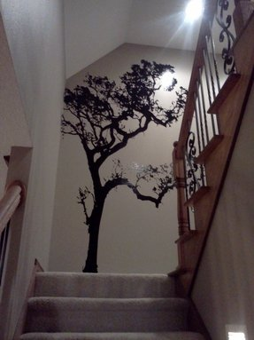 Tall Tree Wall Decals Foter