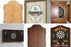 Personalized Dart Board Cabinets Foter