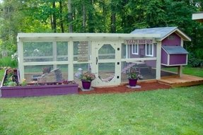 Plastic chicken coop for sale