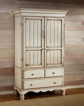 Shabby chic french armoire