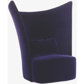 Shop furniture chairs accent chairs phantom purple velvet swivel chair