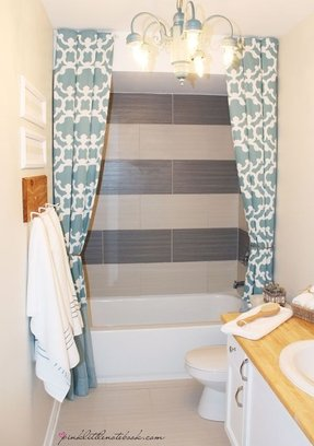Shower curtain 72 x 78