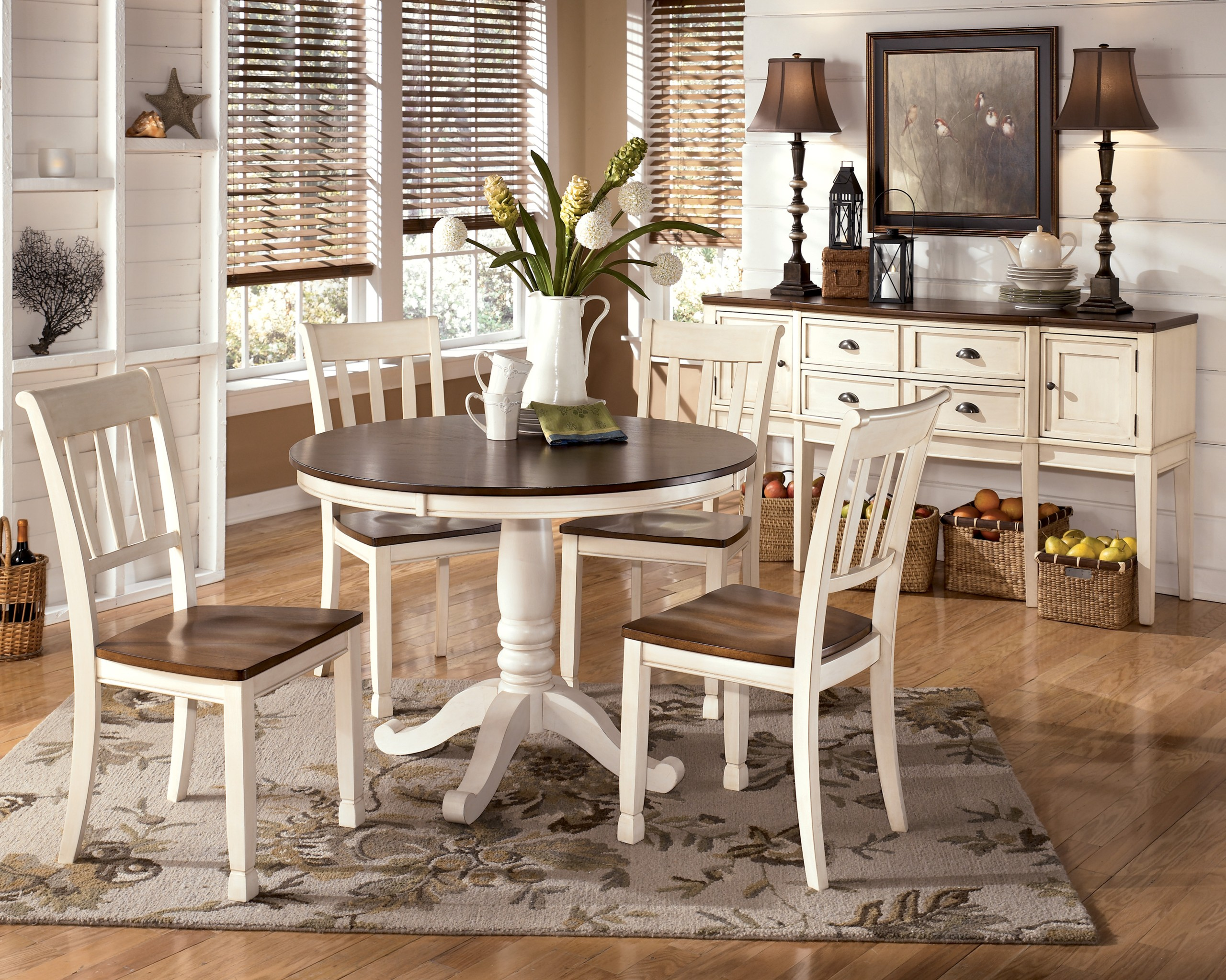 Simple Dining Set Wooden Round Dining Room Table Sets Small