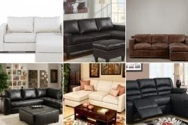 Incroyable Small Leather Sofa With Chaise