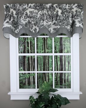 Tie Up Valance Ideas On Foter