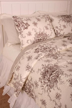 Toile Quilt Set Ideas On Foter