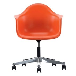 Vitra eames pacc plastic swivel chair