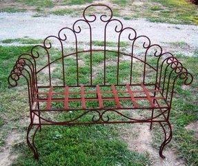 Fine Wrought Iron Patio Benches Ideas On Foter Machost Co Dining Chair Design Ideas Machostcouk