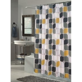 Extra Long Fabric Shower Curtain Foter