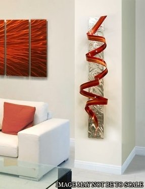 Large Round Metal Wall Art Foter