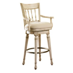 Antique White Swivel Bar Stool Foter