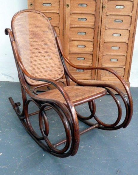 Bentwood Rocker Chair