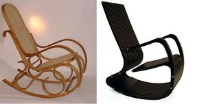 Bentwood rocking chair 11