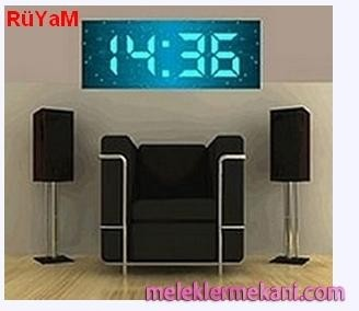 100 Large Digital Wall Clock Foter