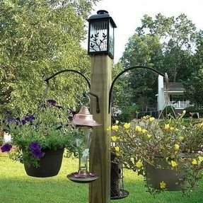 Bird feeder stands