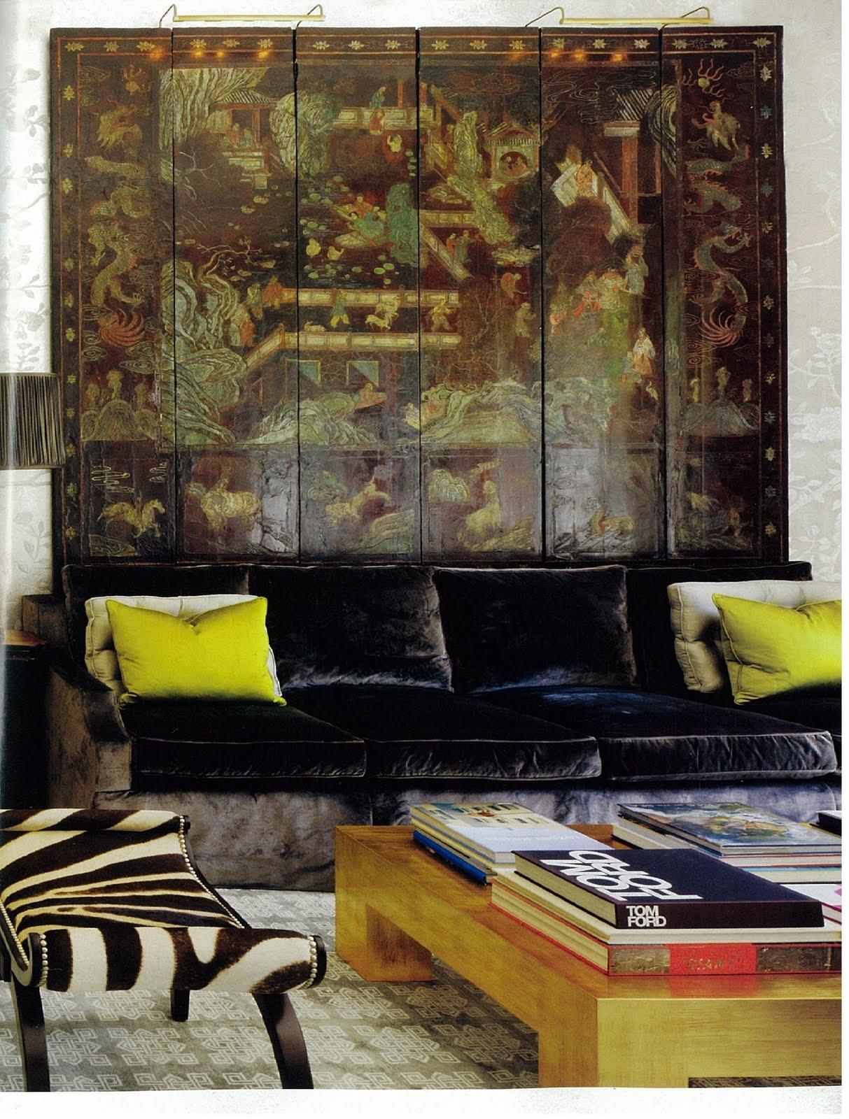 Black Velvet Sofa 3