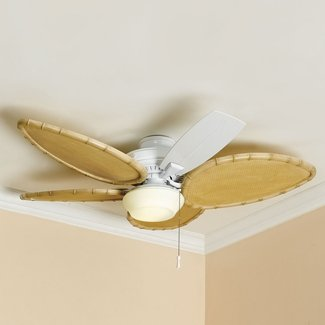 Ceiling fan blade sleeves