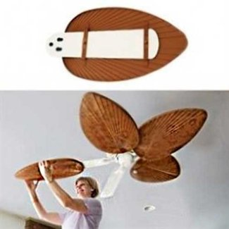 Ceiling fan covers