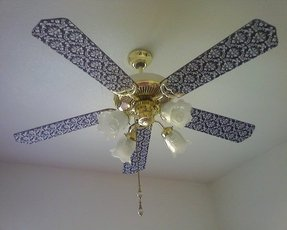 Ceiling fan blade covers foter ceiling fan decorations aloadofball Choice Image