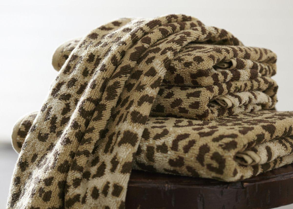 Cheetah Print Bath Towels Trending In Bathroom Decor Luxurious Fall