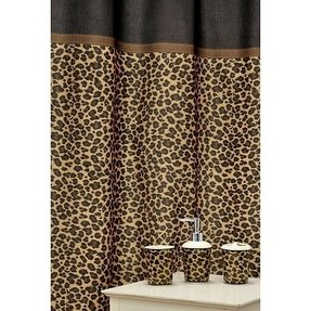 Cheetah Print Bathroom Accessories