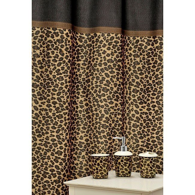 Beau Cheetah Print Bathroom Accessories. Leopard Print Bathroom Set